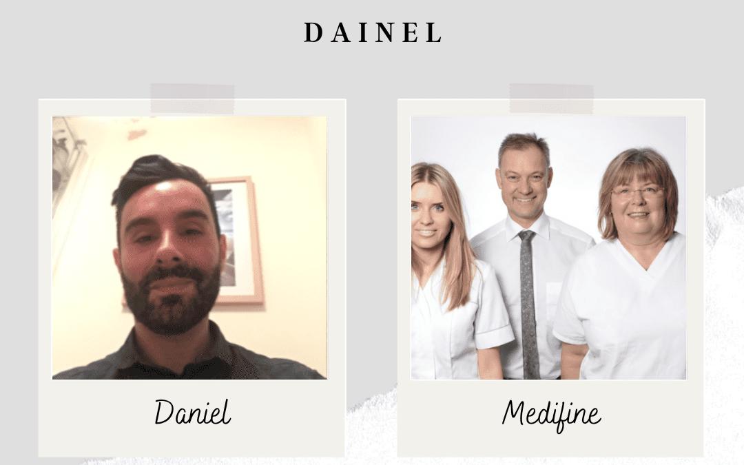 Client Journey Featuring Daniel